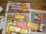 AU gold bars and Rough uncut diamonds