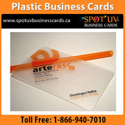 Offers and Promotions: 100% High Quality Plastic Business Cards