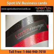 Affordable Standard Quality Spot UV Business Cards 32PT - $270