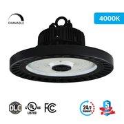 High Bay LED Light 150W UFO 5700K / Warehouse Lighting 20, 098 Lumens