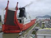 roro shipping to panama