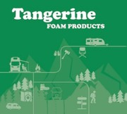 RV BEDS   Tangerine Foam