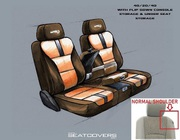 Soft And Smooth Touch Leather Seat Cover For Truck